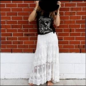 Spell and the gypsy collective ophelia maxi skirt